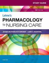 9780323595445-0323595448-Study Guide for Lehne's Pharmacology for Nursing Care