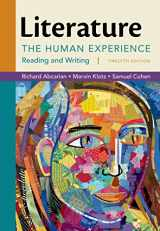 9781457699931-1457699931-Literature: The Human Experience