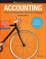 9781119598367-1119598362-Accounting: Tools for Business Decision Making, 7e WileyPLUS Card with Loose-Leaf Set