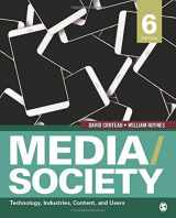 9781506315331-150631533X-Media/Society: Technology, Industries, Content, and Users (NULL)