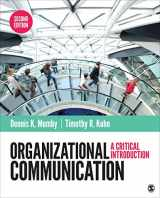 9781483317069-1483317064-Organizational Communication: A Critical Introduction (NULL)