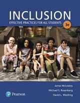 9780134577517-0134577515-Inclusion: Effective Practices for All Students with Enhanced Pearson eText with Loose-Leaf Version -- Access Card Package (What's New in Special Education)