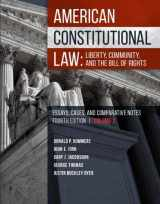 9781683289012-1683289013-American Constitutional Law: Liberty, Community, and the Bill of Rights (Higher Education Coursebook)
