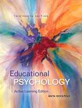 9780134240794-0134240790-Educational Psychology: Active Learning Edition with MyLab Education with Enhanced Pearson eText, Loose-Leaf Version -- Access Card Package (13th ... New in Ed Psych / Tests & Measurements)