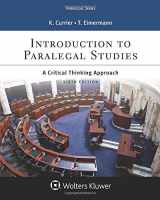 9781454873426-1454873426-Introduction to Paralegal Studies: A Critical Thinking Approach (Aspen Paralegal)