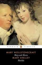9780140433715-0140433716-Mary and Maria by Mary Wollstonecraft & Matilda by Mary Shelley (Penguin Classics)