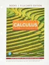 9780134996684-0134996682-Calculus: Early Transcendentals, Books a la Carte, and MyLab Math with Pearson eText -- 24-Month Access Card Package