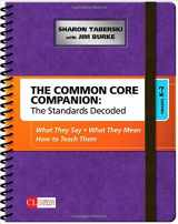 9781483349879-148334987X-The Common Core Companion: The Standards Decoded, Grades K-2: What They Say, What They Mean, How to Teach Them (Corwin Literacy)