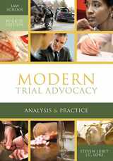 9781601565730-1601565739-Modern Trial Advocacy Analysis & Practice: Law School Fourth Edition (NITA)