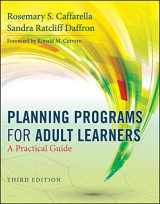 9780470770375-0470770376-Planning Programs for Adult Learners: A Practical Guide