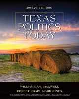 9781285861913-1285861914-Texas Politics Today 2015-2016 Edition (Book Only)