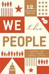 9780393679670-0393679675-We the People (Essentials Twelfth Edition)