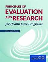 9781284038965-1284038963-Principles of Evaluation and Research for Health Care Programs