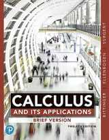 9780135165928-013516592X-Calculus And Its Applications, Brief Version, Books a la Carte Edition