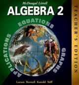 9780395978900-0395978904-McDougal Littell Algebra 2, Teacher's Edition