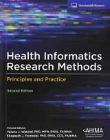 9781584265320-1584265329-Health Informatics Research Methods: Principles and Practice