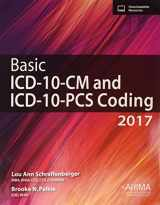 9781584265429-1584265426-Basic ICD-10-CM and ICD-10-PCS Coding, 2017