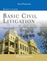 9780735558465-0735558469-Basic Civil Litigation 3e (Aspen College)