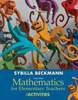 9780321901231-0321901231-Mathematics for Elementary Teachers with Activities Plus NEW Skills Review MyLab Math with Pearson eText-- Access Card Package (4th Edition)