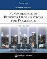 9781454896258-1454896256-Paralegal Series Fundamentals of Business Organizations for Paralegals