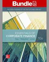 9781260696141-1260696146-GEN COMBO LOOSELEAF ESSENTIALS OF CORPORATE FINANCE; CONNECT Access Card