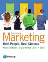 9780134293141-0134293142-Marketing: Real People, Real Choices, Student Value Edition