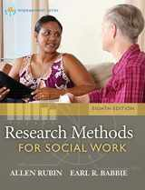 9781285173467-1285173465-Research Methods for Social Work, 8th Edition (Brooks/Cole Empowerment Series)