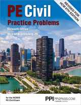 9781591265726-159126572X-PPI PE Civil Practice Problems, 16th Edition (Paperback) – Comprehensive Practice for the NCEES PE Civil Exam