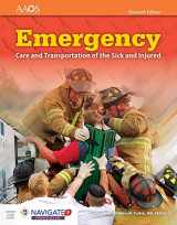 9781284110524-1284110524-Emergency Care and Transportation of the Sick and Injured (Book & Navigate 2 Premier Access) 11th Edition (Orange Book)