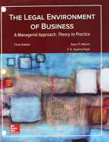 9781260152876-1260152871-Loose Leaf for Legal Environment of Business, A Managerial Approach: Theory to Practice