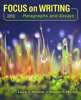 9781319035297-1319035299-Focus on Writing: Paragraphs and Essays