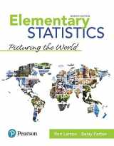 9780134684901-0134684907-Elementary Statistics: Picturing the World Plus MyLab Statistics with Pearson eText -- 24 Month Access Card Package (7th Edition) (What's New in Statistics)