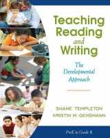 9780205456321-0205456324-Teaching Reading and Writing: The Developmental Approach
