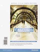 9780133862386-0133862380-Calculus and Its Applications, Books a la Carte Plus MyLab Math Access Card Package (11th Edition)