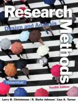 9780205961252-0205961258-Research Methods, Design, and Analysis (12th Edition)