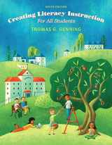 9780133846577-0133846571-Creating Literacy Instruction for All Students, Loose-Leaf Version (9th Edition)