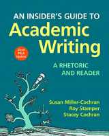 9781319111571-1319111572-An Insider's Guide to Academic Writing: A Rhetoric and Reader, 2016 MLA Update Edition
