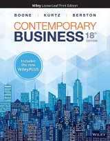 9781119498445-1119498449-Contemporary Business, 18e WileyPLUS NextGen Card with Loose-Leaf Print Companion Set