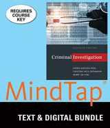 9781337127875-1337127876-Bundle: Criminal Investigation, Loose-leaf Version, 11th + MindTap Criminal Justice, 1 term (6 months) Printed Access Card