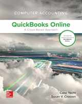 9781259853708-1259853705-Computer Accounting with QuickBooks Online: A Cloud Based Approach 1st Edition (w/ QuickBooks Online Access)