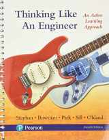 9780134642253-0134642252-Thinking Like an Engineer: An Active Learning Approach Plus MyLab Engineering -- Access Card Package