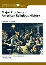 9780495912439-0495912433-Major Problems in American Religious History (Major Problems in American History Series)