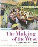 9781319103637-1319103634-The Making of the West, Volume 2: Since 1500: Peoples and Cultures