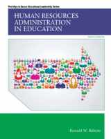 9780133351934-0133351939-Human Resources Administration in Education (Allyn & Bacon Educational Leadership)