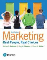 9780134292663-0134292669-Marketing: Real People, Real Choices
