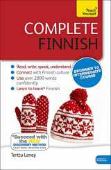 9781444195224-1444195220-Complete Finnish Beginner to Intermediate Course: Learn to read, write, speak and understand a new language (Teach Yourself)