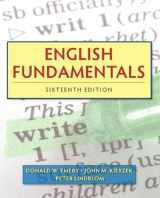 9780205825974-0205825974-English Fundamentals (16th Edition) (Mywritinglab)