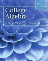 9780321981769-0321981766-College Algebra plus MyLab Math with Pearson eText -- Access Card Package (5th Edition) (Beecher, Penna, & Bittinger, The College Algebra Series, 5th Edition)