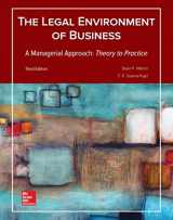 9781259686207-1259686205-Legal Environment of Business, A Managerial Approach: Theory to Practice