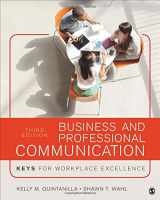 9781506315522-1506315526-Business and Professional Communication: KEYS for Workplace Excellence
